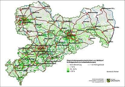 Radonpotenzial In Sachsen Sachsen De